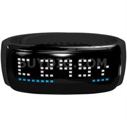 BB5 Golf GPS LED Band, Black/Silver - OPEN BOX