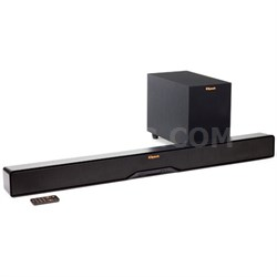 "Reference R-4B 2-Way Soundbar with Wireless 6.5"" Subwoofer - Refurbished"