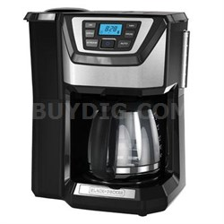 12-Cup Mill and Brew Coffeemaker in Black - CM5000B