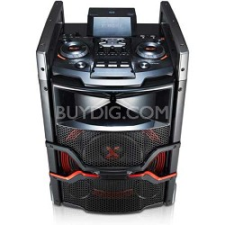 OM5541 - 400W X-Boom Cube Speaker System with Bluetooth Connectivity