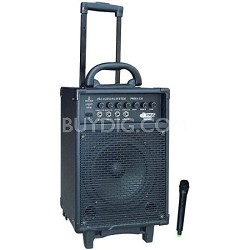 300 Watt VHF Wireless Battery Powered PA System with Echo