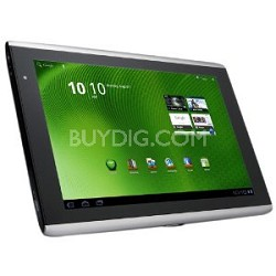 "ICONIA Tab A500-10S32u - tablet - Android 3.0 - 32 GB - 10.1"" - silver"