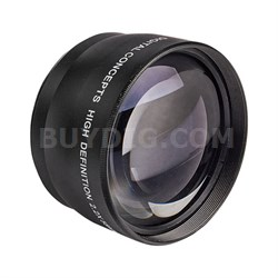 Pro 2x Telephoto Lens Converter - 58mm threading (Black)