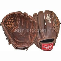 """Heart of the Hide Solid Core 12"""" Pitcher/Infield Baseball Glove Left Hand Throw"""