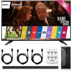 49UF7600 - 49-inch 2160p 120Hz 4K UHD LED TV + LAS751M 4.1 Channel Soundbar