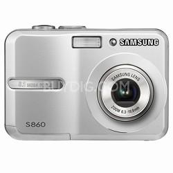 "S860 8MP 2.4"" LCD Digital Camera (Silver)"