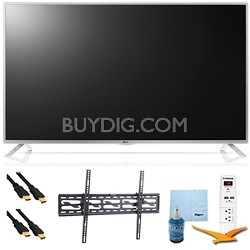"""32"""" 1080p 60Hz Smart Direct LED HDTV Plus Tilting Mount & Hook-Up Kit (32LB5800)"""