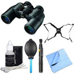 ACULON 10x50 Binoculars (A211) Explorer Bundle