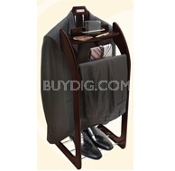 ST-90E Clothes Valet Stand Espresso Color