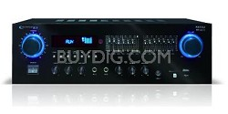 RX50Ui Professional Receiver with USB & SD Card Inputs Black