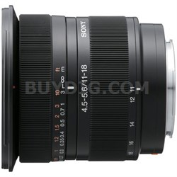 SAL1118 DT11-18mm f/4.5-5.6 Aspherical ED Super Wide Angle Zoom Lens - OPEN BOX