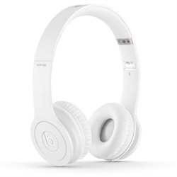 Solo HD On-Ear Headphones with Built-in Mic (White)