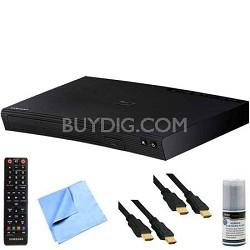 BD-J5900 - 3D Wi-Fi Blu-Ray Disc Player Plus Hook-Up Bundle