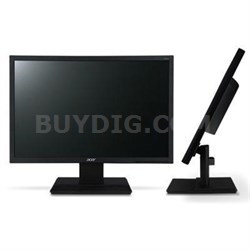 "V196HQL 18.5"" 1366 x 768 LED Backlit LCD Monitor - UM.XV6AA.A01"