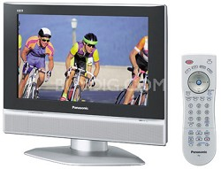 "TC-19LX50 19"" Widescreen LCD HDTV with Built-In Stereo Speakers"