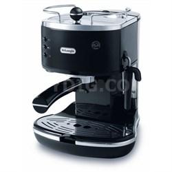 ECO310BK 15 Bar Icona Pump Espresso Latte & Cappuccino Maker Tamper