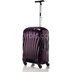 """Black Label Cosmolite Hardside 20"""" Violet Carry On Spinner Suitcase"""