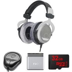 DT 880 Premium Headphones 250 OHM - 481793 w/ M-Audio Amp. Bundle