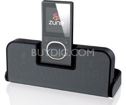 Zlive Portable Speaker for Zune (Black)