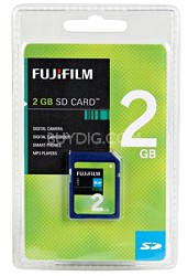 2GB SD - Memory Card