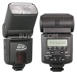 Digital Concepts 952AF TTL Power Zoom Bounce & Swivel Flash for Canon DSLR