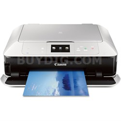 PIXMA MG7520 White Wireless Color All-in-One Inkjet Multifunction Printer