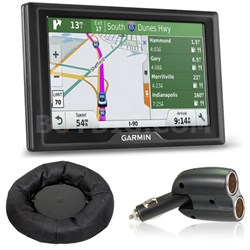 Drive 50LMT GPS Navigator (US Only) Charger + Dash Mount Bundle