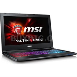"GS Series GS60 Ghost Pro 4K-053 15.6"" Intel i7-6700HQ Gaming Laptop Computer"