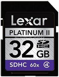 32 GB Platinum II 60x SD Card