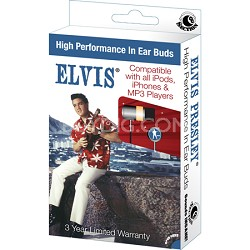 RBW-5680- Elvis Presley -Movie In-Ear Buds Window Box