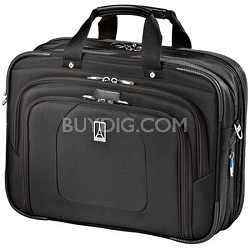 Luggage Crew 9 Business Briefcase (Black) - 407120101