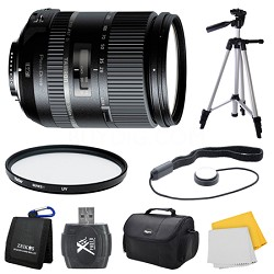28-300mm F/3.5-6.3 Di VC PZD Lens for Nikon Bundle