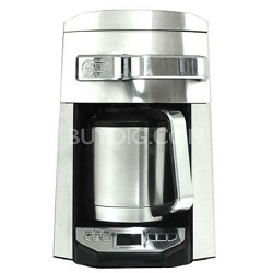 12-Cup Programmable Drip Coffee Maker - Silver