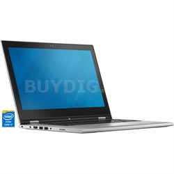 "Inspiron 13 7000 13.3"" Silver 2-in-1 Convertible Tablet PC - Intel Core i7-5500U"