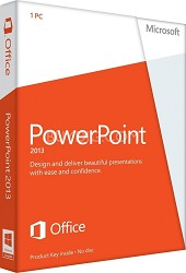 PowerPoint 2013 Key Card (1PC/1User)