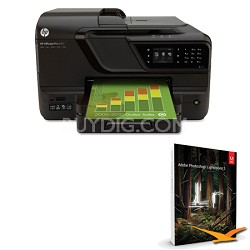 Officejet Pro 8600 e-All-in-One Wireless Color Printer w/ Photoshop Lightroom 5