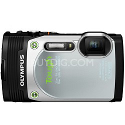 TG-850 16MP Waterproof Shockproof Freezeproof Digital Camera - Silver