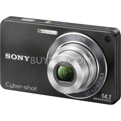 Cyber-shot DSC-W350 14.1 MP Digital Camera (Black) - OPEN BOX