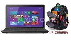 "Satellite 15.6"" C55-A5249 Notebook PC - Intel Celeron 1037u Processor + Backpack"