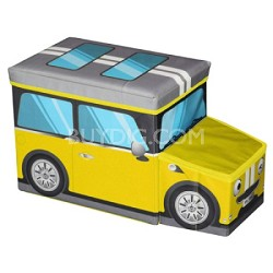 Mini Car Ottoman Yellow