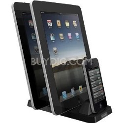 InCharge X3 Docking Station for iPod/iPhone/iPad - Black - OPEN BOX