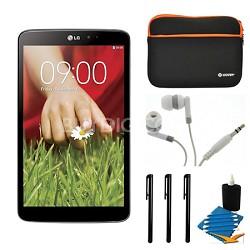 "G Pad V 500 16GB 8.3"" WiFi Black Tablet and Case Bundle"
