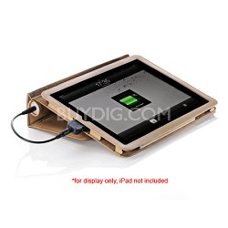 VPP-003-TAN Pebble Folio Battery Charger for all iPad models
