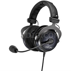 MMX 300 PC Gaming Premium Digital Headset with Microphone 32 Ohms Black Edition