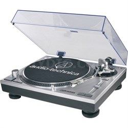 ATLP120USB Professional Stereo Turntable w/ USB LP to DIG - Silver - OPEN BOX
