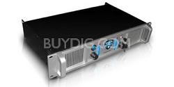 LX-2100 2U Professional 2CH Power Amplifier (Silver)