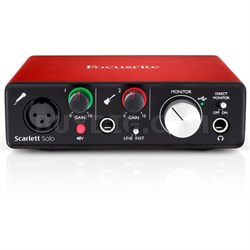 Scarlett Solo USB Audio Interface (2nd Generation) With Pro Tools and More