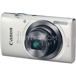 PowerShot ELPH 160 20MP 8x Opt Zoom HD Digital Camera - White
