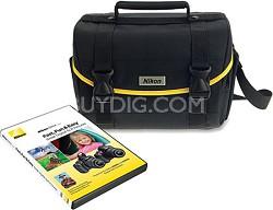 D3000-D5000 DSLR Starter Kit w/ DVD Guide and System Case