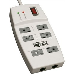 6 Outlet Surge Protector (540 Joules, 4ft Cord)